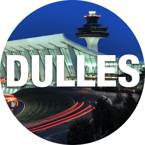 Annapolis City Taxi goes to Washington Dulles International Airport