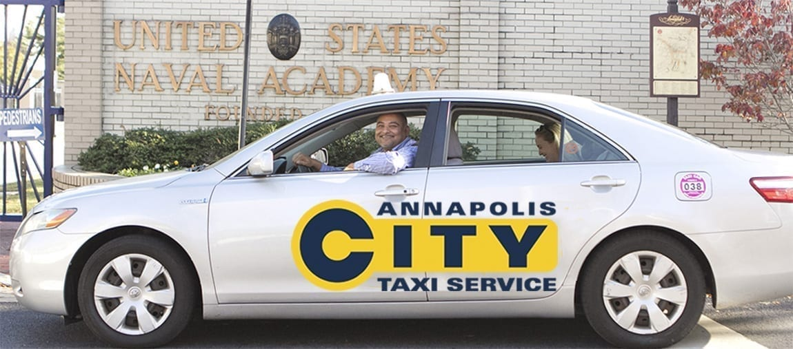Annapolis City Taxi by the Naval Academy