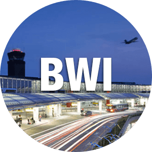 Annapolis City Taxi goes to Baltimore–Washington International Airport