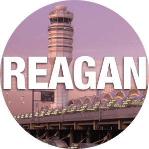 Annapolis City Taxi goes to Ronald Reagan Washington National Airport